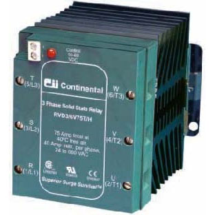 cii rvx3 3 phase solid state relays
