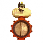 Industrial Actuator and Valve